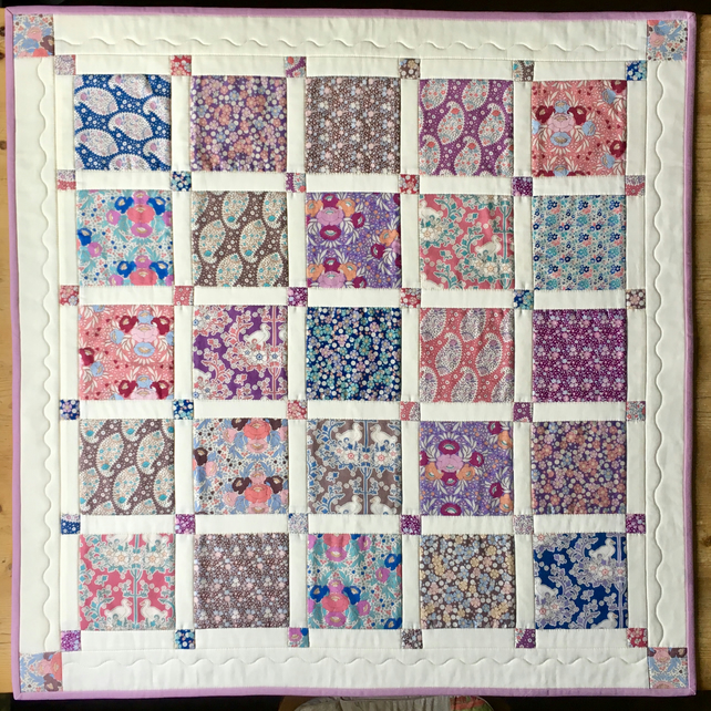 Small patchwork quilt