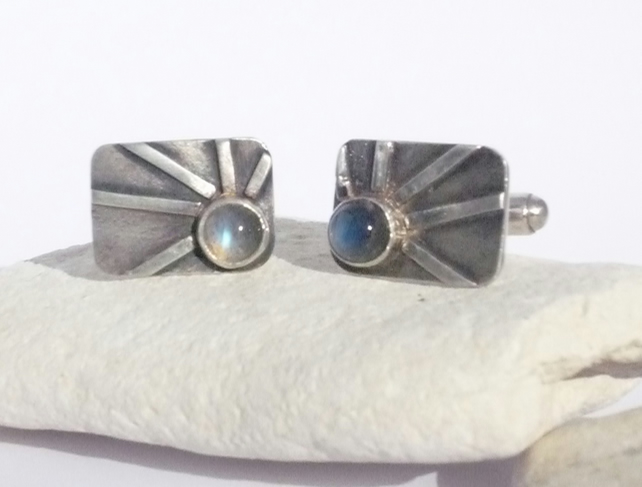 Sun Ray Cuff Links