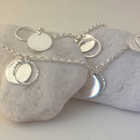 Long Necklace of Double Discs