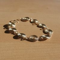 Silver Spiral (closed) Bracelet, jewellery