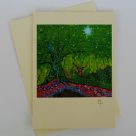 Tree of Life 20 Art Greeting Card by Mark Betson