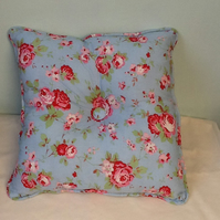 "Vintage Piped Square Cushions 16"" x16""app"