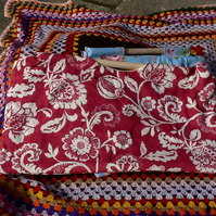 Lovely Quilted Knitting  Sewing Bags