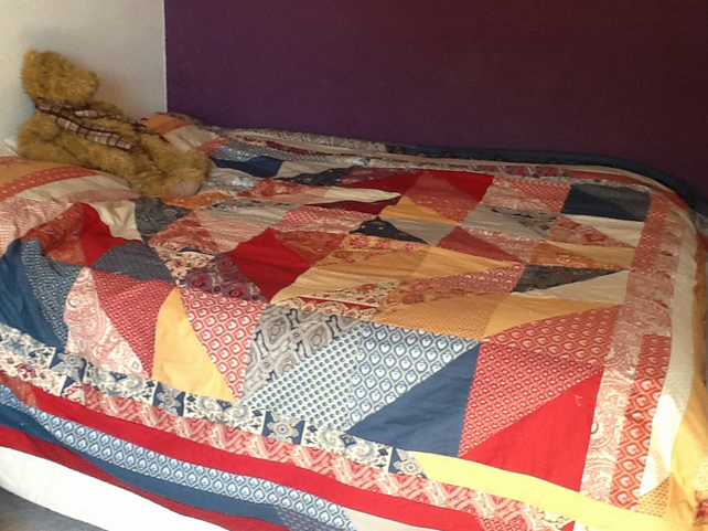 Made To Order Patchwork Quilts and Cushions