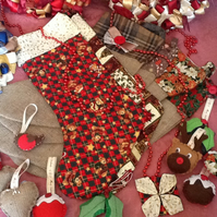 SALE REDUCED Large Christmas Stockings