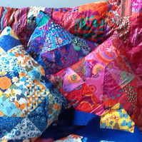 Gorgeous Patchwork Kaffe Fassett,Moda fabric Cushions