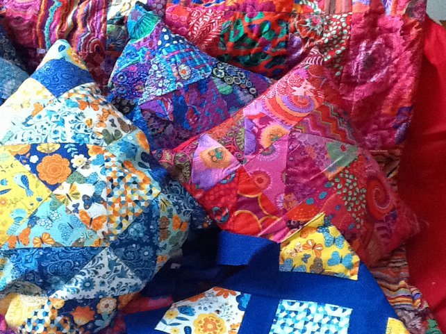 Patchwork Charm Pack Cushions