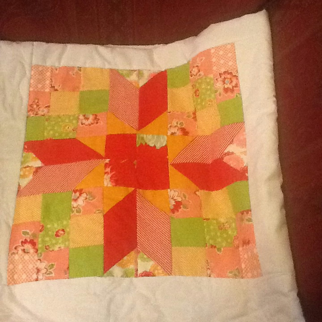 Beautiful Star Jelly Roll Quilt