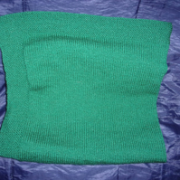 Small Knitted Blanket suitable  for a Small Child, Doll or a Pet