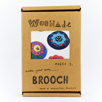 Fabric Brooches Craft Pack