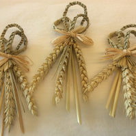 3 corn twist corndollies
