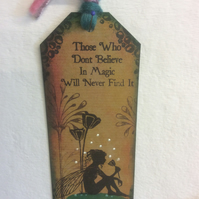 Moments like this-Magical fairy bookmark