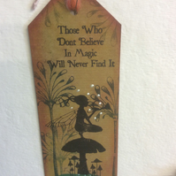 Night watch-Magical fairy bookmark