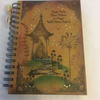 Freya's house - magical fairy notebook