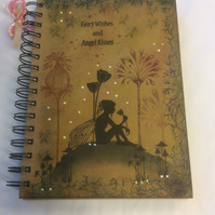 Moments like this - magical fairy notebook