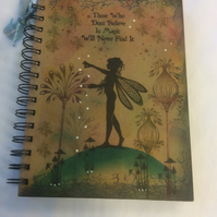 Freya - magical fairy notebook
