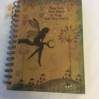 Tree goddess Luna - magical fairy notebook