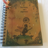 Fairy tale - magical fairy notebook