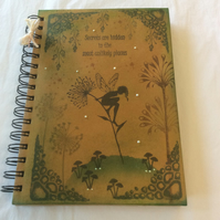 Seeing is believing - magical fairy notebook