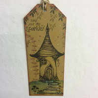Freya's house-Magical fairy bookmark