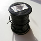 Spool of 2mm Black Leather Cord for Jewellery Making - High Quality
