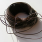 Meters and Meters 1mm Brown Leather Thong for Jewellery Making &Craft Projects