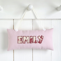 Personalised Girl's Door Sign, Child's Bedroom Door Plaque