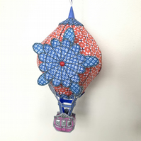 Whimsical 3D Hot Air Balloon Model