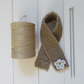 Jute scarf for outside garden tap