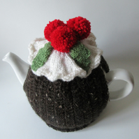 Christmas pudding tea cosie