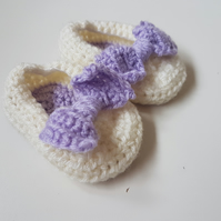 Baby Slippers 0 - 3 months