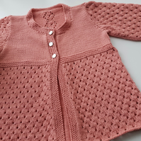 Lace Baby Cardigan 12 - 18 months