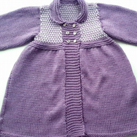 Vintage Style Cardigan 6 - 12 months