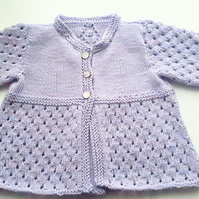 Lace Baby Cardigan 3 - 6 months