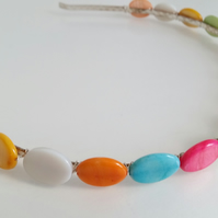Coloured Shell Hairband