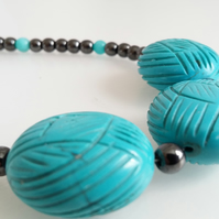 Turquoise Magnesite Necklace
