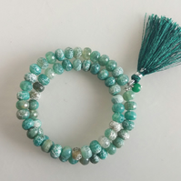 Wrap Around Gemstone Bracelet