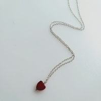 Red Heart Neckace