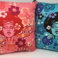 Pair of Retro Cushions