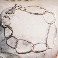 ecosilver pebble bangle