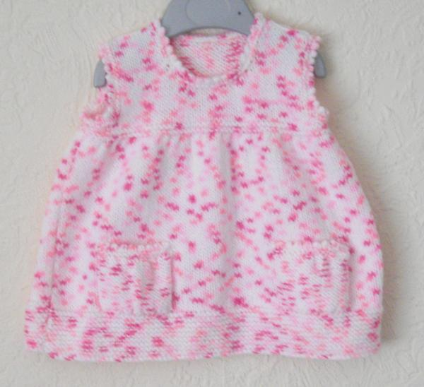 Baby Pinafore Dress - 3-6 months