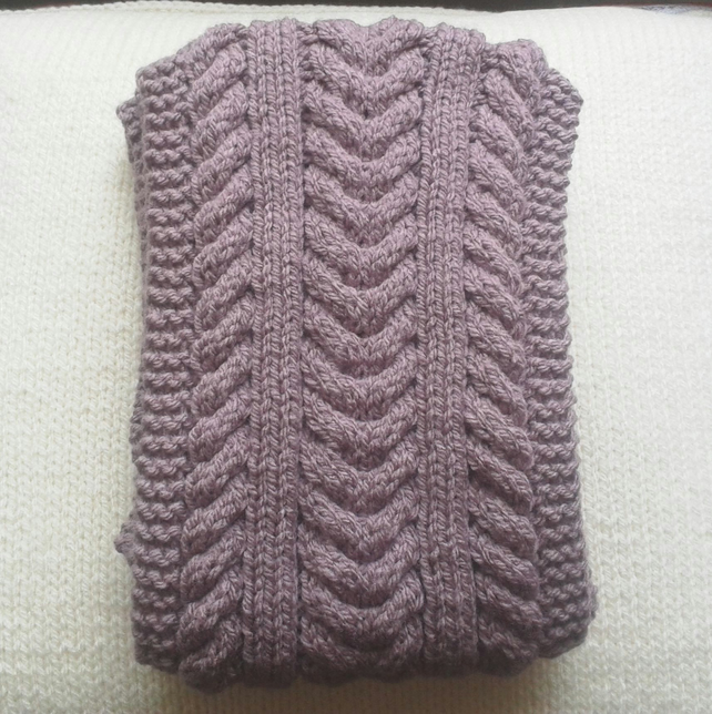 Aran Scarf - New design