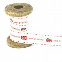25mm Best of British Ribbon