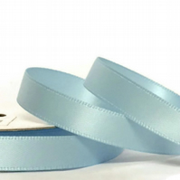 Baby Blue Satin Ribbon
