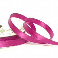 10mm Fuchsia Satin Ribbon