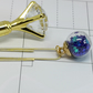 Glass Ball Planner Charm