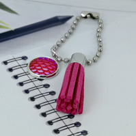 Mermaid Planner Charm - Pink