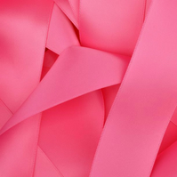 10mm Pink Satin Ribbon