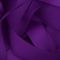 Purple Grosgrain Ribbon 10mm