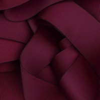 Burgundy Grosgrain Ribbon 10mm